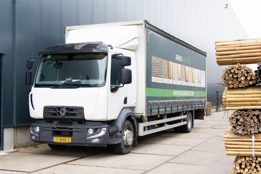 Vrachtwagen Arends Natuurlijk voorkant
